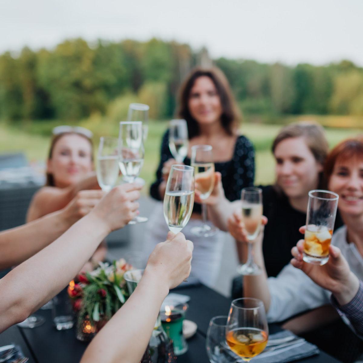 Relaks z grupą przyjaciół